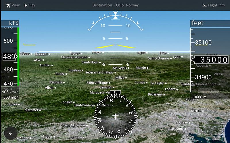 3次元的に視点を変えたり、ビューを変更したりできる(画像:FlightPath3D)