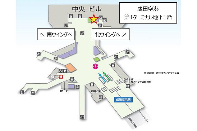 新店舗の位置図