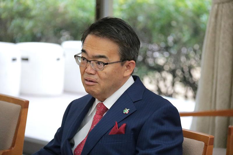 愛知県知事 大村秀章氏は、「中部国際空港がさらに便数を増やしていくには、LCCが必要不可欠。中部からアメリカ西海岸がないので、どこかに飛ばしてほしい」とも話した