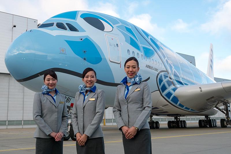 ANAはエアバスA380型機で運航するホノルル線のダイヤとファーストクラス運賃などを発表した