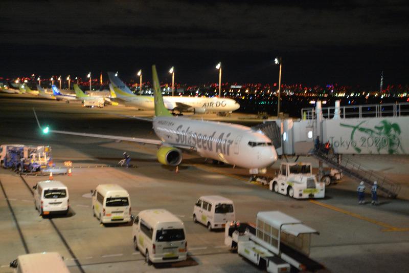 機材はボーイング 737-800型機