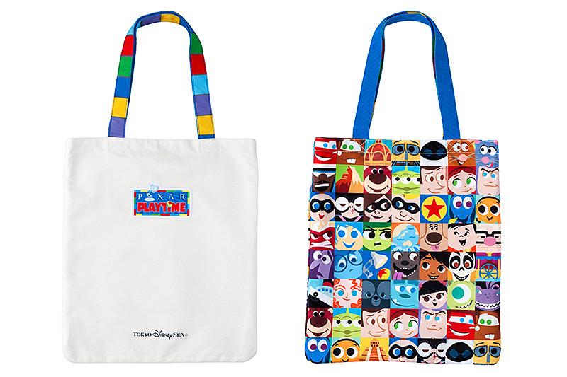 東京ディズニーシーは、1月11日より開催する「ピクサー・プレイタイム」のスペシャルグッズの販売を開始した