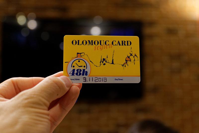 Olomouc Region Cardがあれば公共交通機関などを無料で利用できる