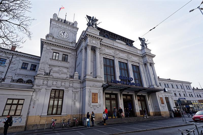 ブルノ本駅