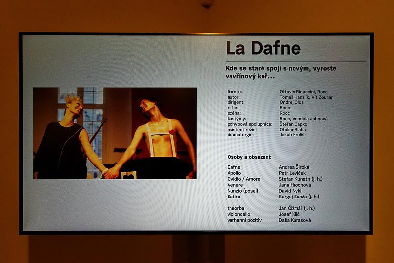 鑑賞したオペラは「La Dafne」