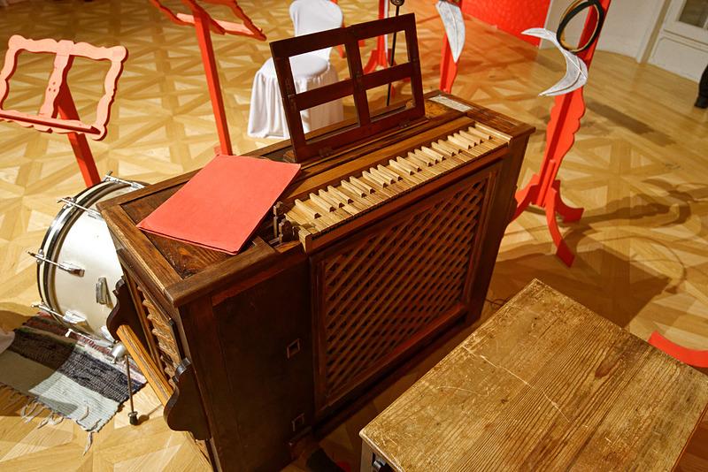 演奏に使われたオルガン