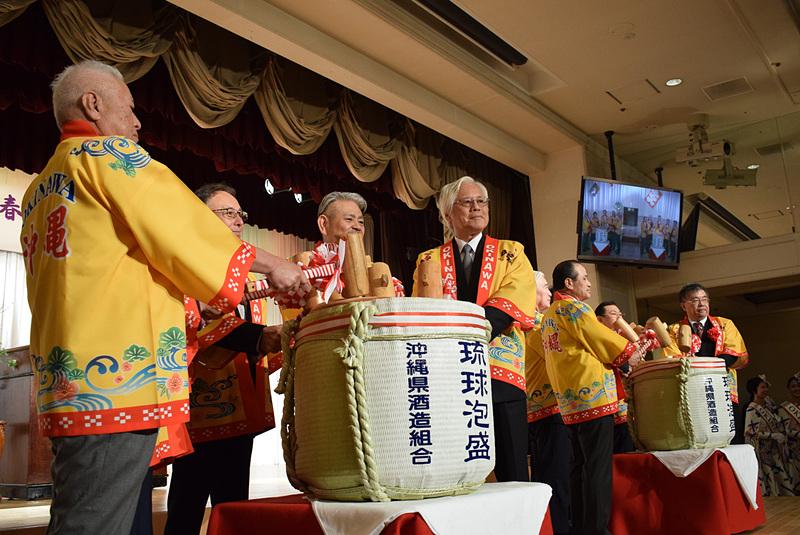 OCVB主催のもと、「2019年 沖縄観光新春の集い」が開催された