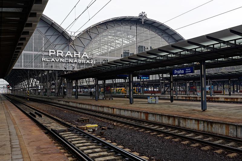 プラハに到着