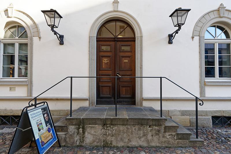 メンデルスゾーンハウスの入口