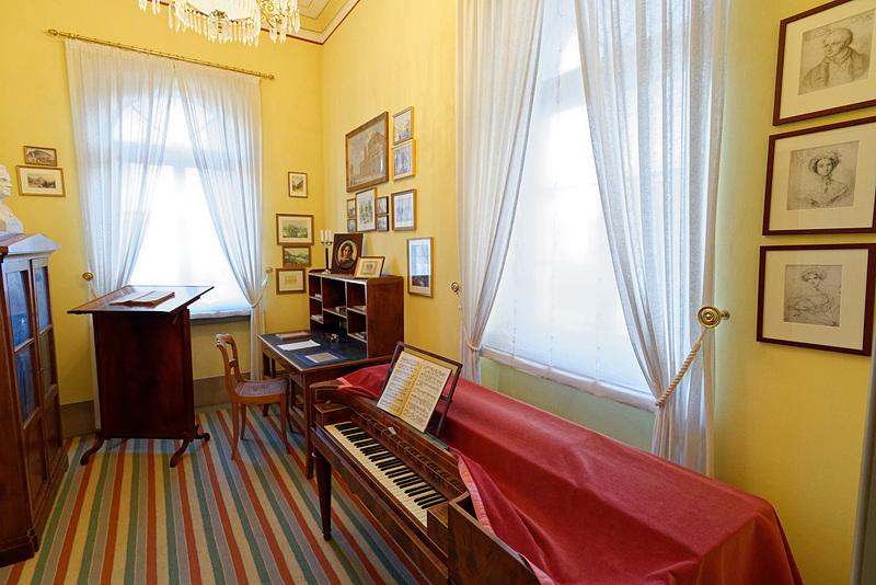 メンデルスゾーンの仕事部屋