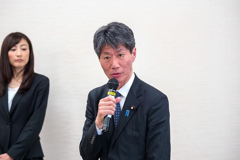 経済産業副大臣 磯﨑仁彦氏