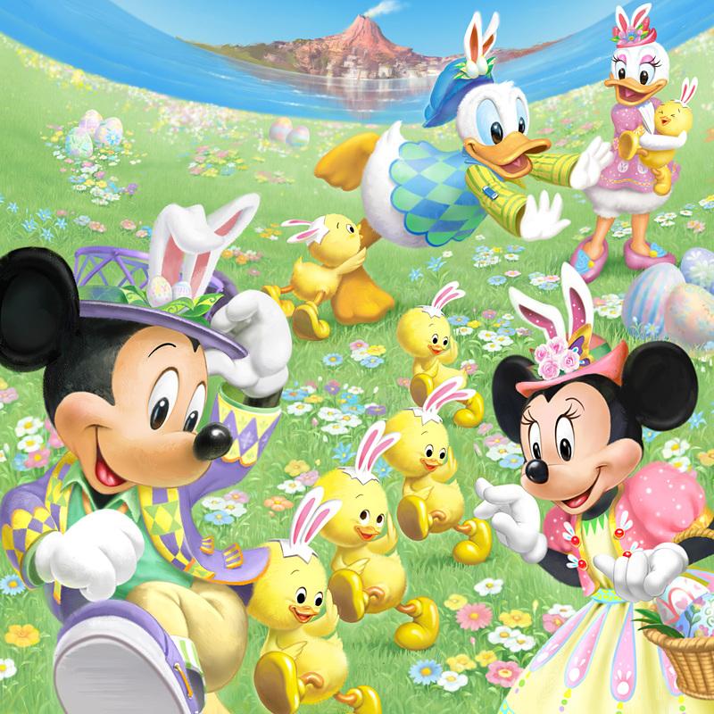 オリエンタルランドは、4月4日~6月2日の期間に開催する春のスペシャルイベント「ディズニー・イースター」の内容を発表した