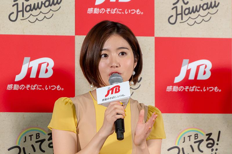 杏沙子さんは天使の海が一番のお気に入りの場所として印象に残ったそうだ