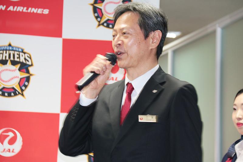 日本航空株式会社 常務執行役員 二宮秀生氏