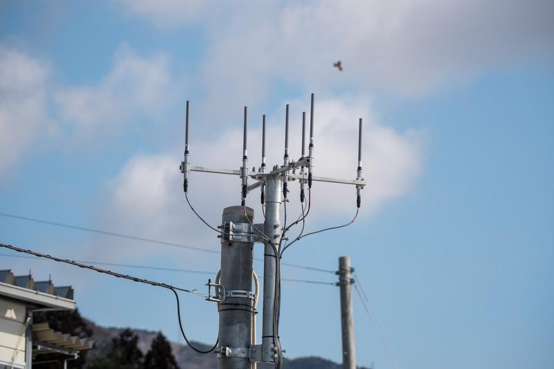 700MHz帯TIS無線のアンテナ