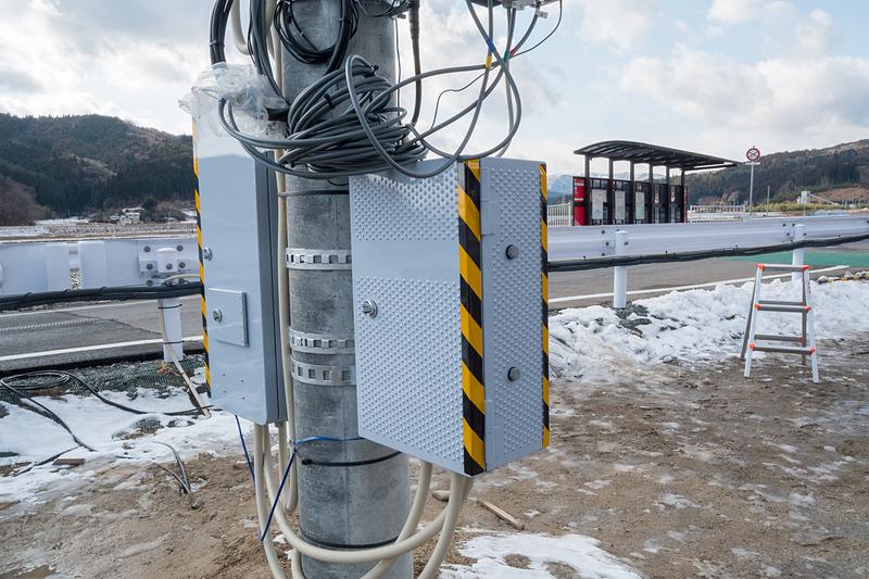 日本信号による信号制御機