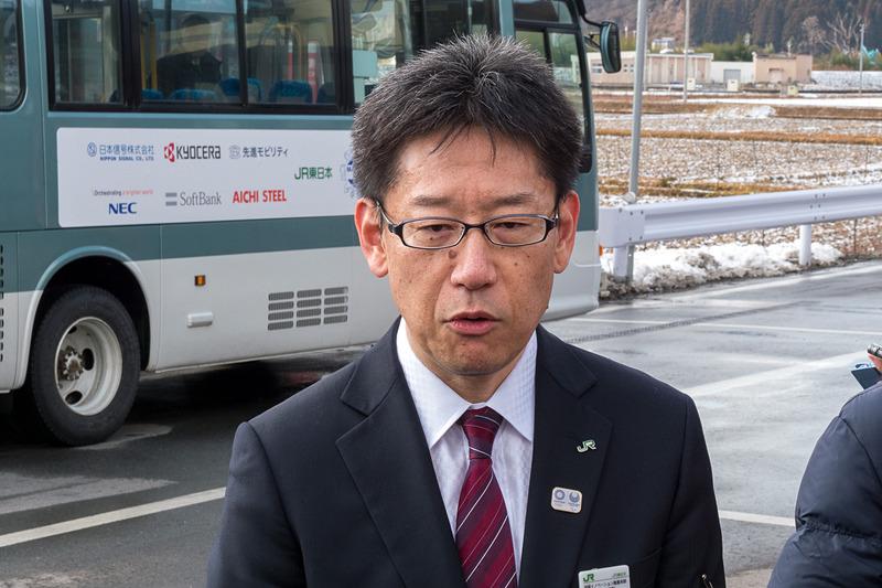 東日本旅客鉄道 技術イノベーション推進本部 ITストラテジー部門 部長 佐藤勲氏
