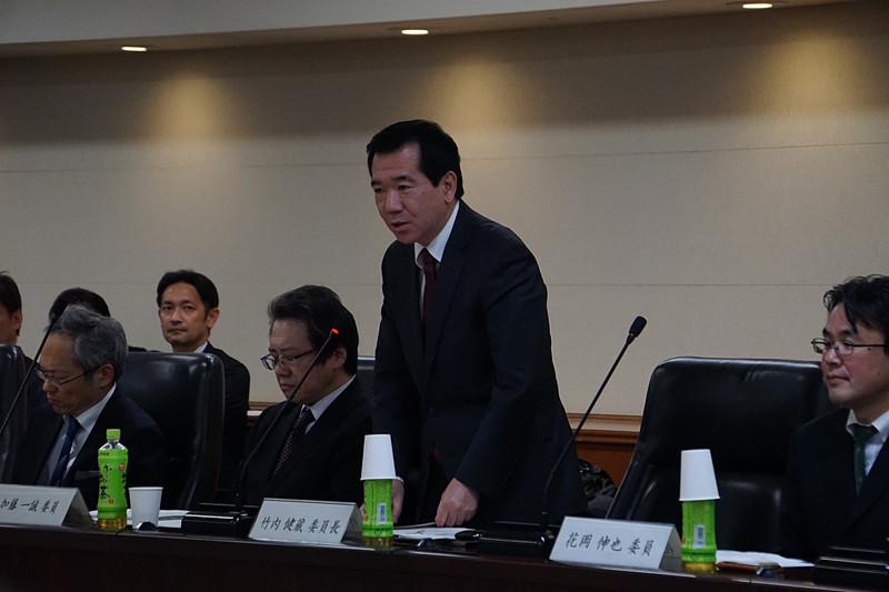 「羽田発着枠配分基準検討小委員会」委員長の竹内健蔵氏