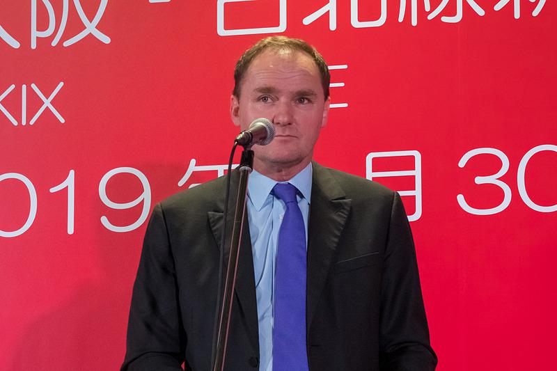 関西エアポート株式会社 専務執行役員 最高商業責任者 グレゴリー・ジャメ氏
