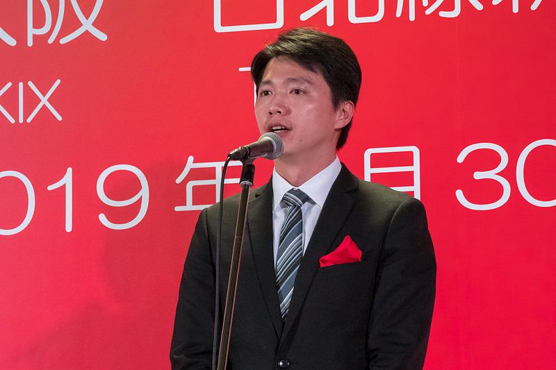 台湾観光協会 大阪事務所 所長 陳冠竹氏