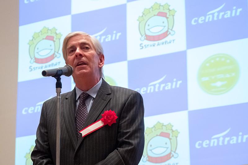 SKYTRAX CEO エドワード・プレステッド氏