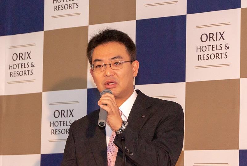 オリックス不動産株式会社 取締役副社長 似内隆晃氏