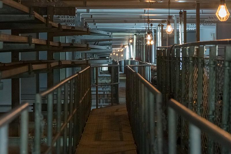 橋桁内部の様子