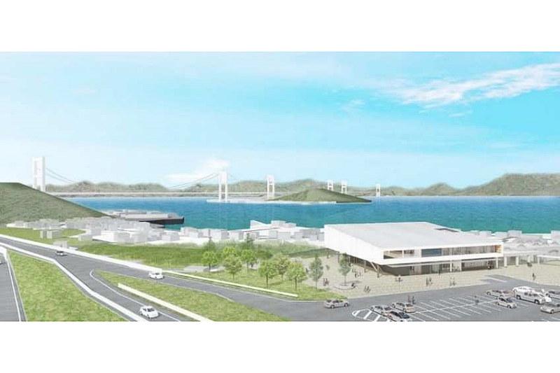 西瀬戸自動車道(E76)来島海峡SAリニューアル