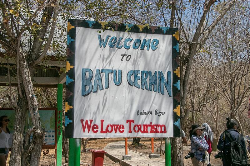 フローレス島にある「Batu Cermin(バトゥ・チェルミン)」