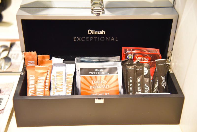 ピラミッドティーバッグの「Dilmah Exceptional」シリーズ。複数フレーバーを用意