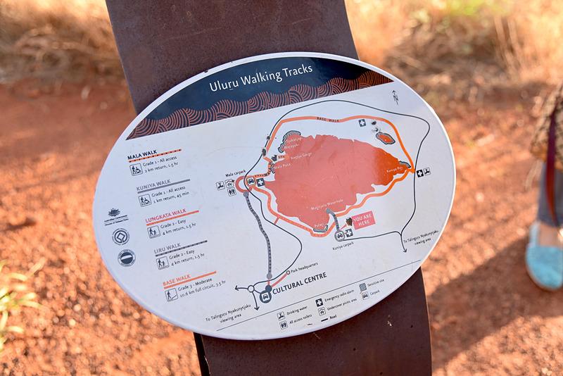 「Uluru Walking Tracks」で自分にあった散策路を選ぼう