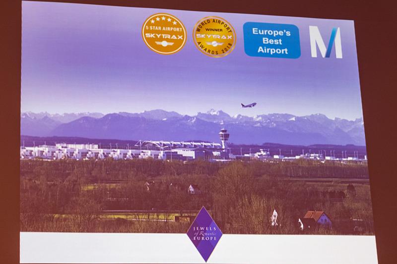 ミュンヘン空港のSabina Mey氏