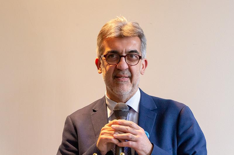 マテーラ2019 財団長のパオロ・ヴェッリ氏