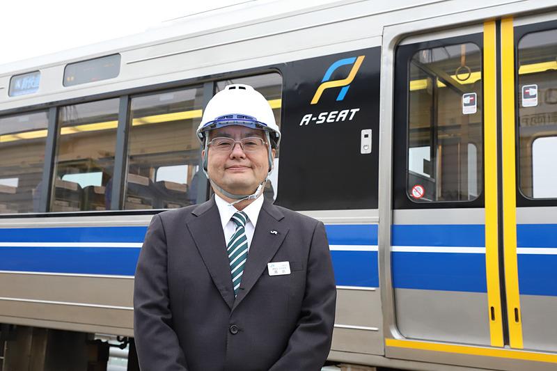 西日本旅客鉄道株式会社 運輸部担当課長 清水誠一氏