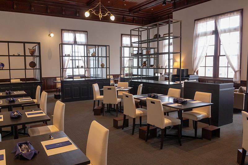 3月10日オープン予定である「みかど食堂 by NARISAWA」の店内