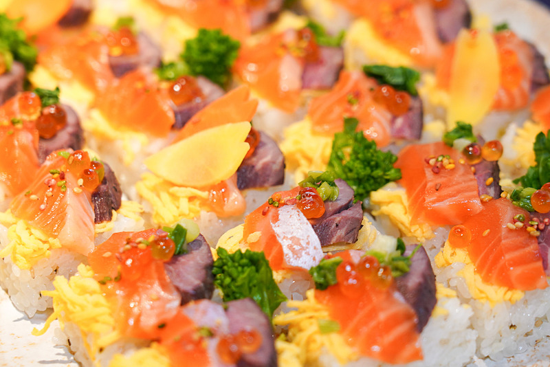 「里山ちらし寿司」一口サイズのちらし