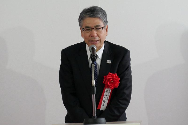 足立区副区長 長谷川勝美氏