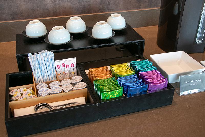 紅茶や日本茶など