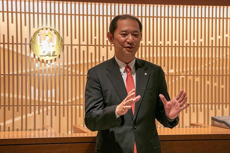 日本航空株式会社 執行役員 路線統括本部商品・サービス企画本部長 佐藤靖之氏