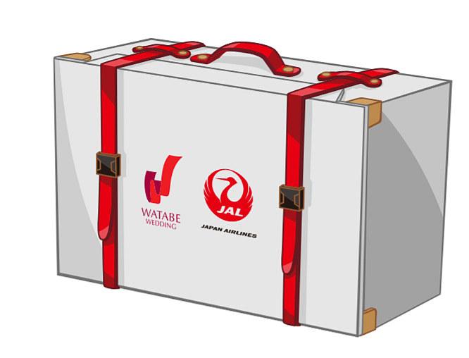 ワタベウェディングはジャルパックのハワイツアー利用者向けにウェディングレスの梱包・配送サービスを開始する
