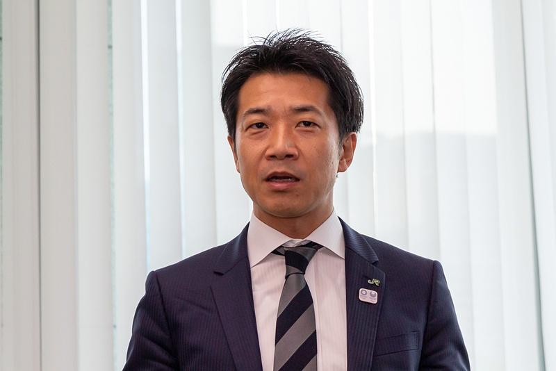 東日本旅客鉄道株式会社 鉄道事業本部 営業部 宣伝グループ 課長 深見真悟氏
