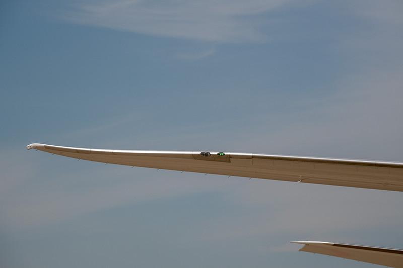 右水平尾翼の翼端