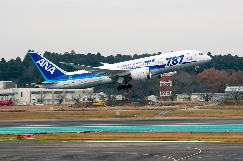 ボーイング 787-8型機
