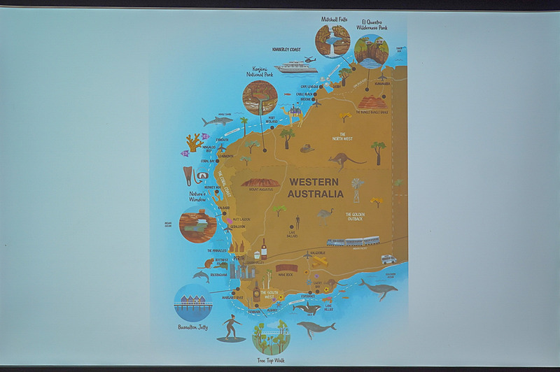 ATE19が開催される西オーストラリア州、9月1日からANA(全日本空輸)の直行便が就航する予定で日本の観光客にとっても身近な観光地になっていく