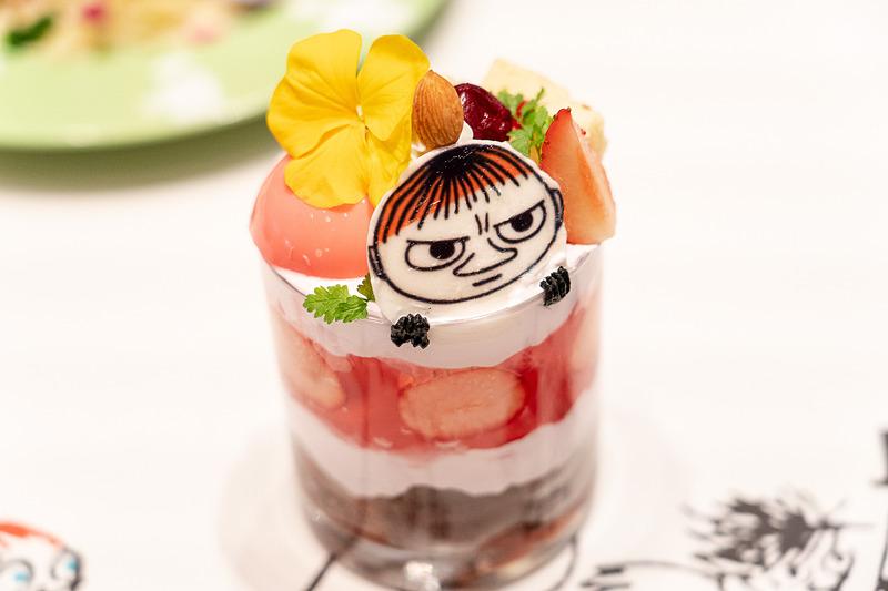 ちびのミイのパフェ(1680円)