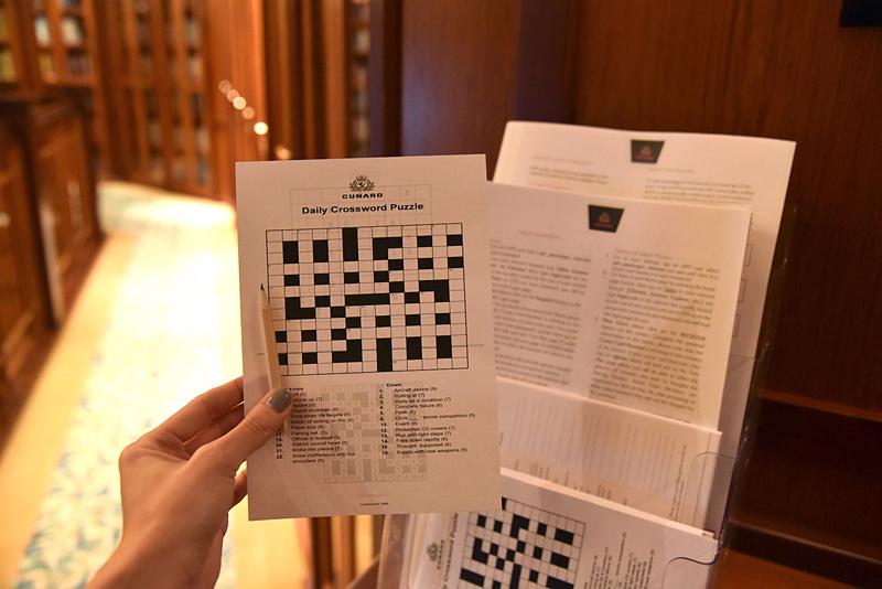 空き時間にできる「Daily Crossword Puzzle」も用意