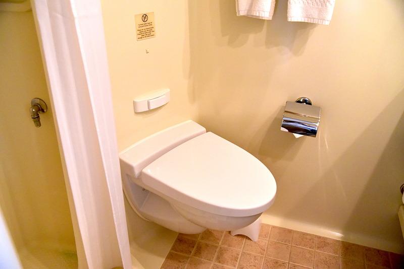 トイレはしっかり水で流れるのでご安心を