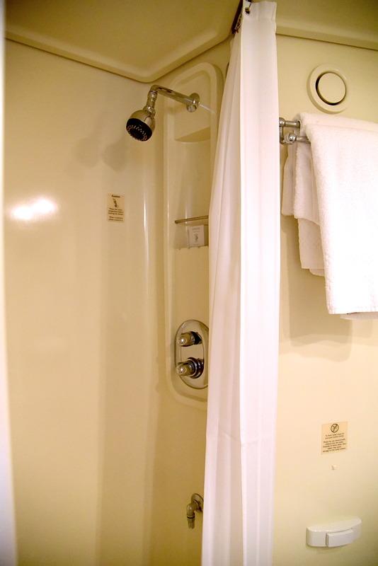 水の勢いがあるのでシャワーだけでも疲れが取れる