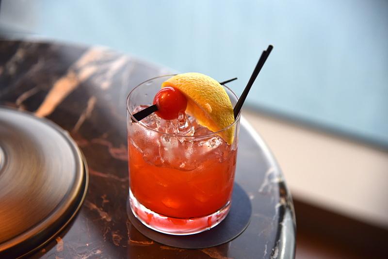 一番人気の「QE2 Cocktail」