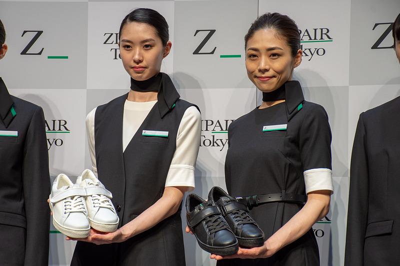 ZIPAIRが機体デザインと制服を公開した
